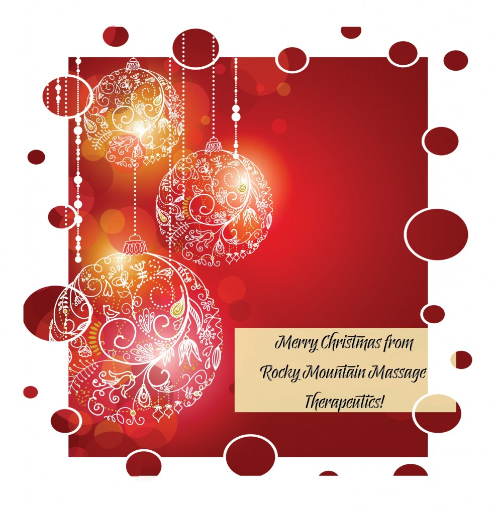 Merry Christmas from Rocky Mountain Massage Therapeutics!