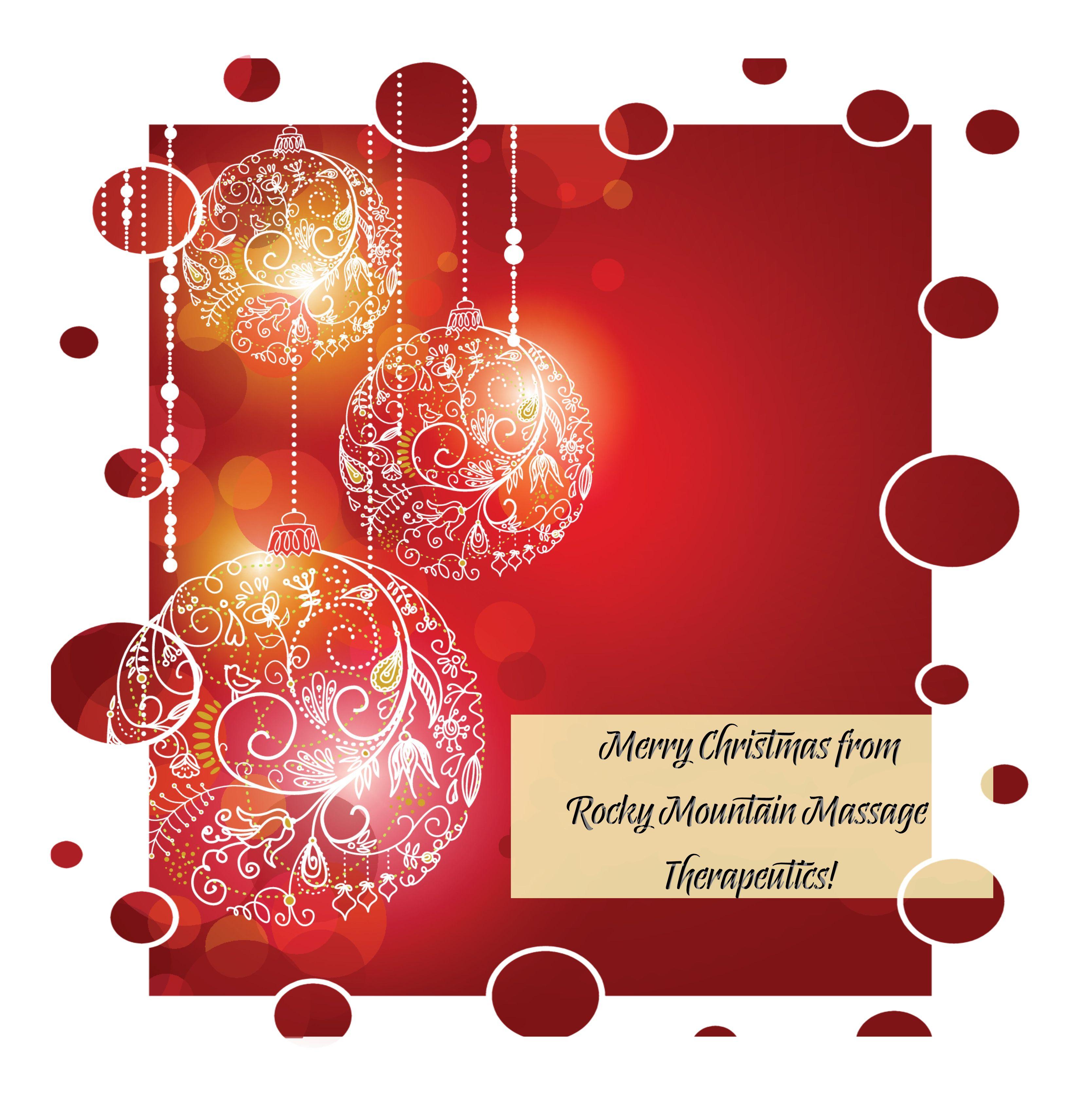 Merry Christmas! – Rocky Mountain Massage Therapeutics, LLC